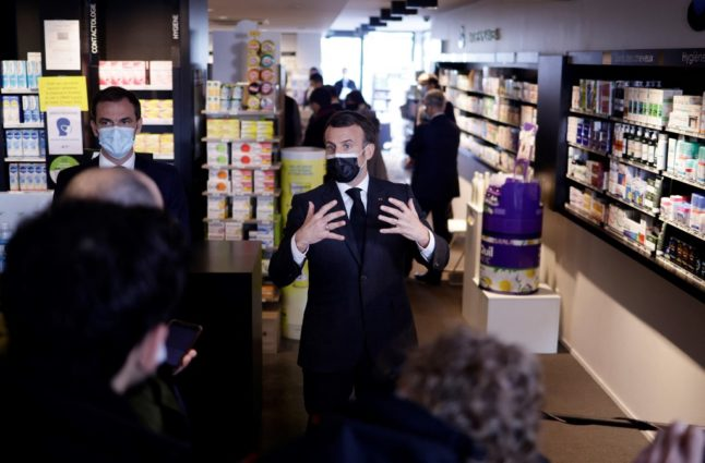 Macron promises 'change of pace' in France's Covid vaccine programme