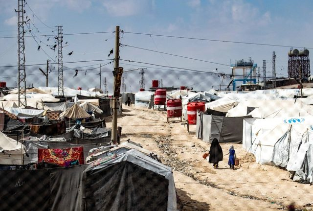 Denmark to consider repatriating children from Syrian camps by separating them from mothers