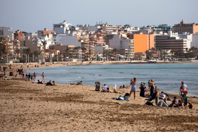 'I really needed a break': Pandemic-weary Germans find 'freedom' on Mallorca