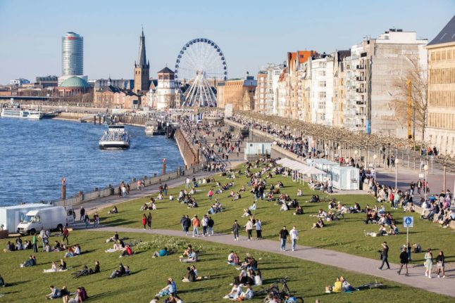 Weather: Sun and springlike temperatures come to Germany