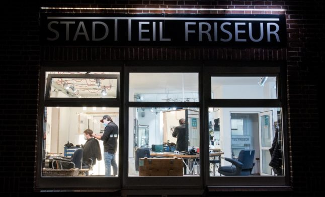 'I look normal again': German residents rejoice as hairdressers reopen