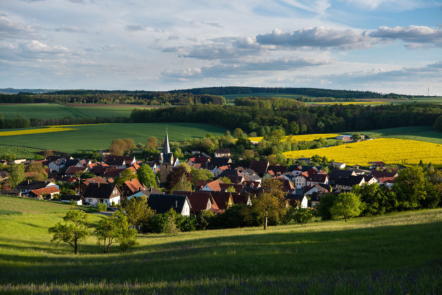 Are Germans really fleeing the cities for an idyllic life in the countryside?