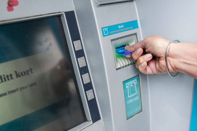17 Swedish towns to get new cash machines after law change