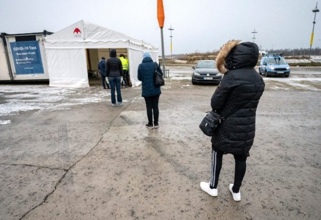 What's it like crossing the border between Sweden and Denmark now?
