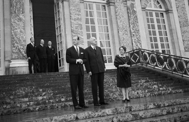 VIDEO: Watch Prince Philip making a speech in French (with a 'frog' joke)