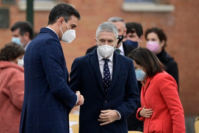 Spanish PM condemns death threat letters with bullet cartridges sent to officials