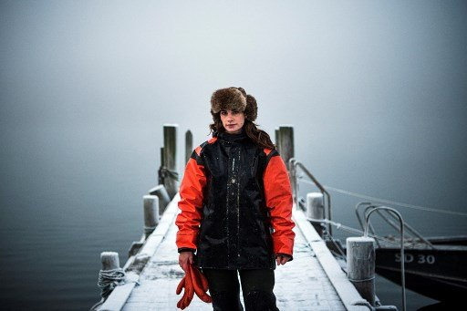 IN PICTURES: Meet Sweden's only female oyster diver