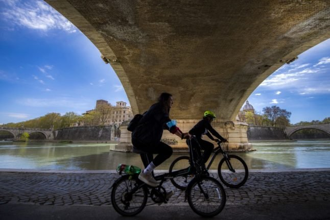 OPINION: Why cycling in Rome isn't as crazy as it sounds