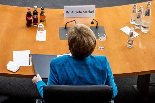 Merkel party pick to lead Germany 'not convincing': Bavarian rival