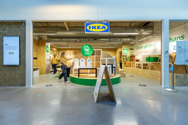 'This is the only way forward': Step inside Sweden's first second-hand Ikea store