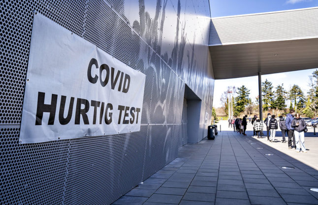 Fake Danish Covid-19 test websites reported to police