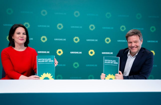 Germany's Greens to put forward first chancellor candidate