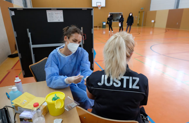 Vaccine effect: Covid-19 hospital admission rate falls in Germany