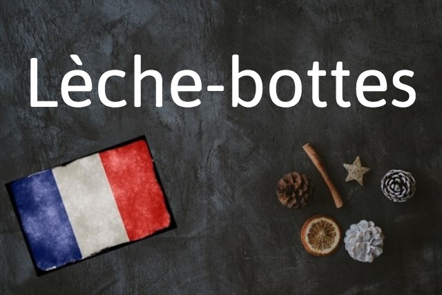 French word of the day: Lèche-bottes
