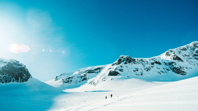 Where in Norway will get the best weather over Easter?