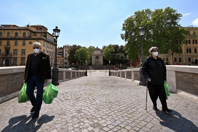 Covid-19: Italy considers removing outdoor mask rule 'from July or August'
