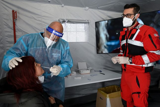 How you can get a free coronavirus test in 11 Italian cities