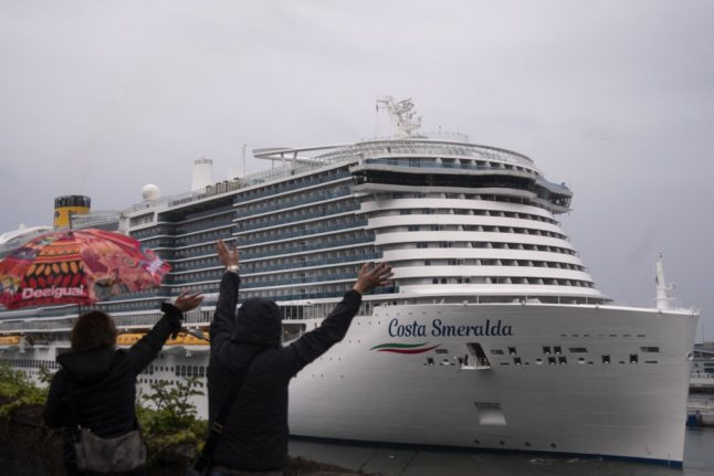 TOURISM: Italian cruises set sail for the first time in four months