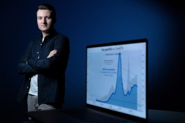 Calls for Légion d'honneur for French data scientist who created Covid vaccine booking app