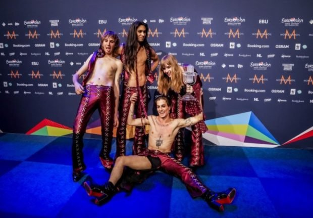 Italian Eurovision winners 'really offended' by accusations of drug use