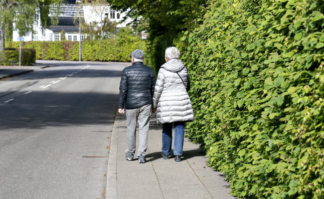 Denmark expects twice as many people over 80 years old in 2050