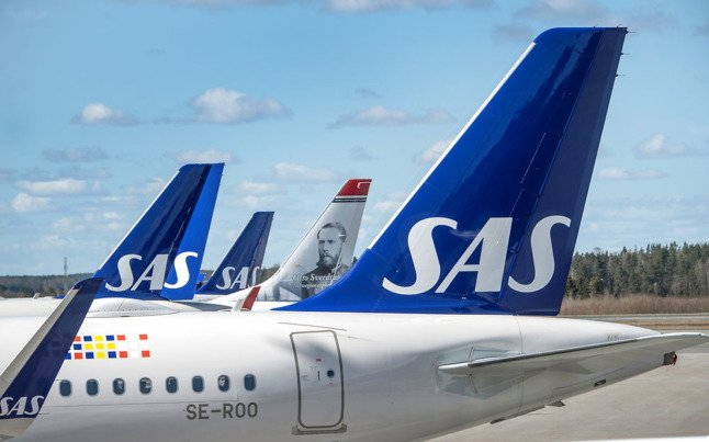 Virus-stricken airline SAS secures new public loan from Denmark and Sweden