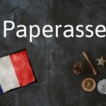 French word of the Day: Paperasse
