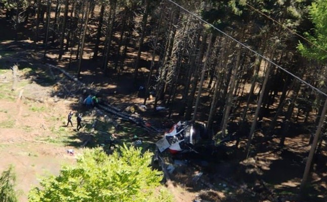 German tourists among 13 dead in Italy cable car accident