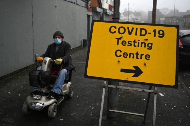 How can tourists and visitors in Switzerland get a Covid test?