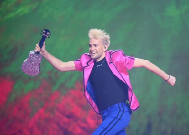 Who is the ukulele-playing Hamburger representing Germany in Eurovision 2021?