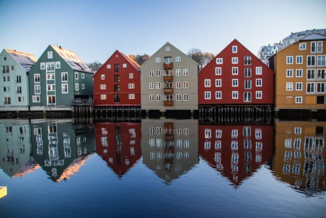How did Covid-19 affect immigration in Norway in 2020?