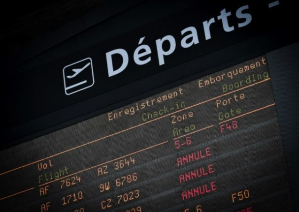 French airport workers call for strikes in July in contract dispute
