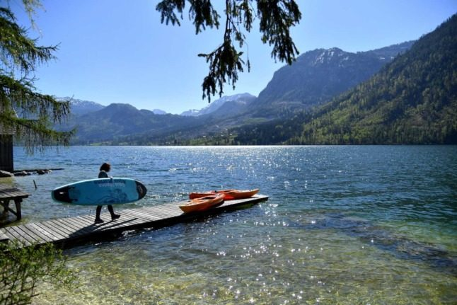 Austria's beaches 'second cleanest in Europe'