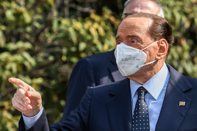 Italy's Berlusconi combative after hospital stays