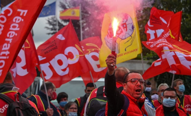 French union calls for national rail strike in July