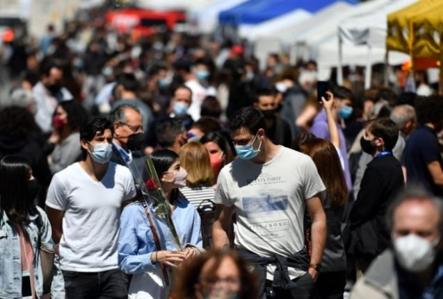 Spain to lift outdoor face mask rule on June 26th