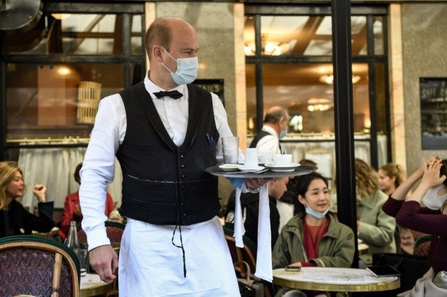 'Last threshold to get back to normality' - French cafés and restaurants prepare to fully reopen