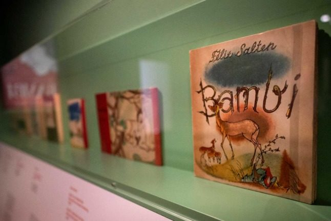 Neglected Austrian creator of 'Bambi' celebrated in Vienna show