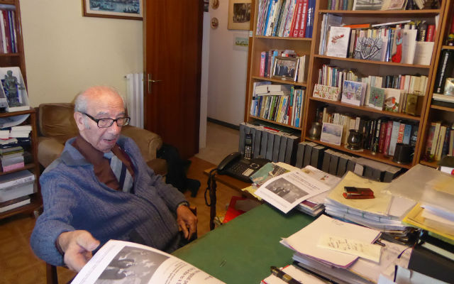 British campaigner in Italy Harry Shindler awarded OBE for supporting UK nationals' rights