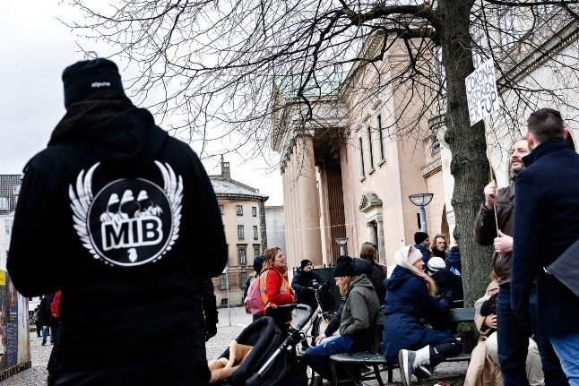 Danish anti-lockdown protester begs for cut to two-year jail sentence
