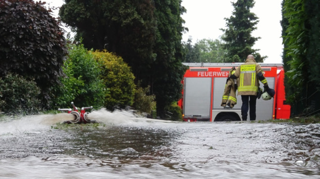 IN PICTURES: Storms and floods strike across western Germany