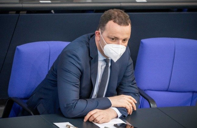 German Health Minister suggests gradual end to compulsory face masks