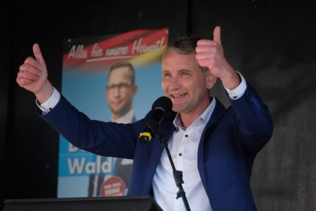 Germany's far-right AfD ahead in regional poll with anti-shutdown stance