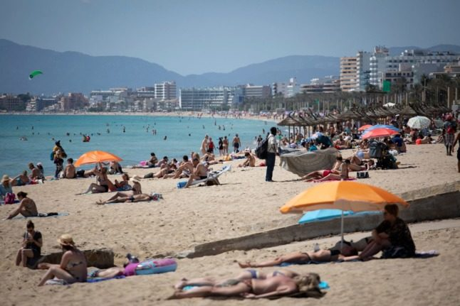 Lufthansa fires up 'jumbo jet' for surge in German tourists bound for Mallorca