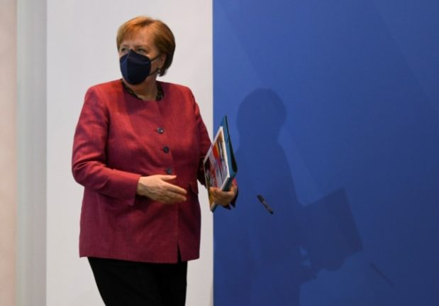 'Nothing to do with facts': Merkel slams coalition partner in row over face masks