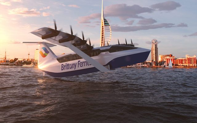 'Flying ferries': Plans announced to link France and UK with new 180mph passenger ferry