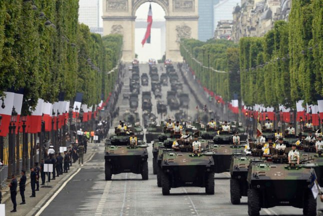 July 14th: What's planned for France's Bastille Day celebrations this year?