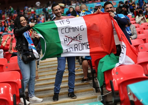 Euro 2020: Up to 1,000 fans allowed to travel from Italy to London for final