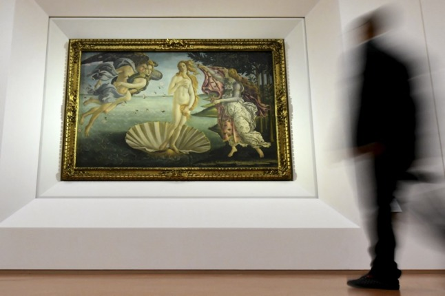 The new guide to Florence's Uffizi Galleries – showing only the nudes