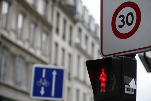 Paris to extend 30 km/h speed limit to most streets